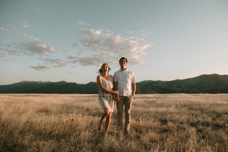 Mount Shasta Engagement