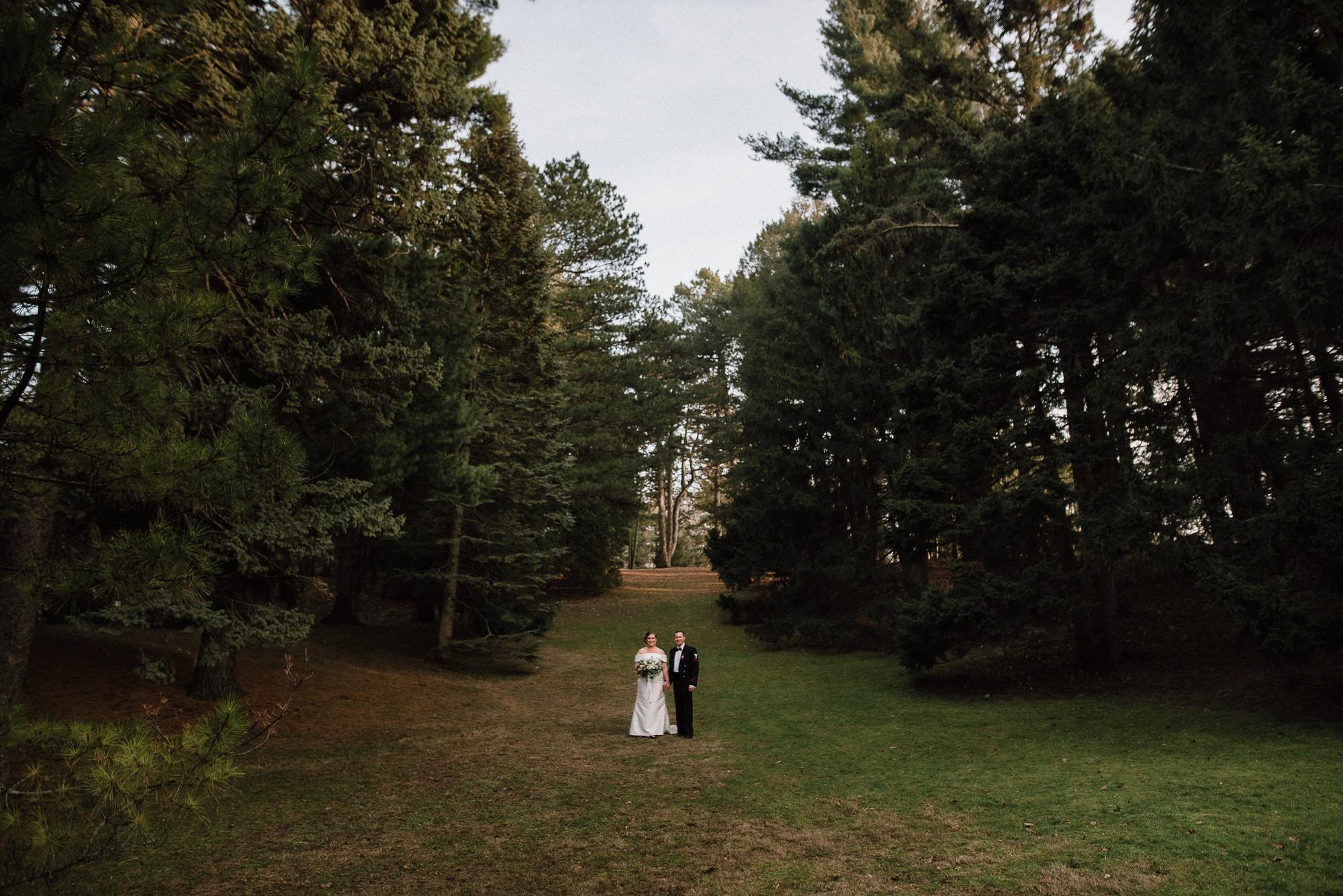 Wedding Photo in Highland Park, Photo by Matt Lim