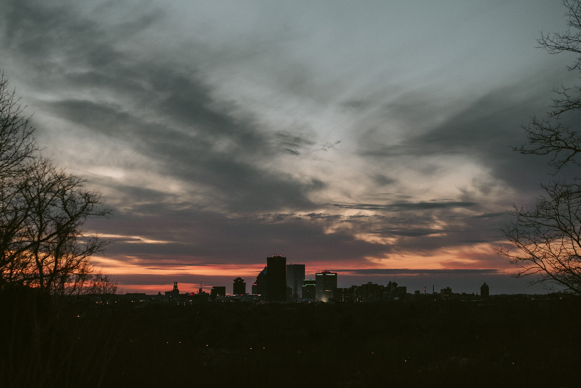 Rochester skyline, Photo by Matt Lim